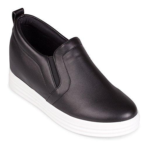 Comprar Bryce Slip On Wedge Fashion Sneaker Black