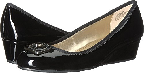 BANDOLINO Womens Trina Wedge Dress Shoes 10 Black