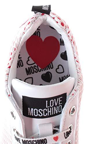 Bianco Moschino Scarpad Rete Love Donna Sneaker running25 YBSdq