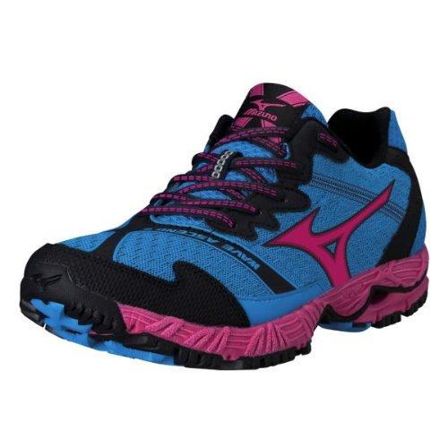 Mizuno Women's Wave Ascend 8 Running Shoe,Blue,7 B US