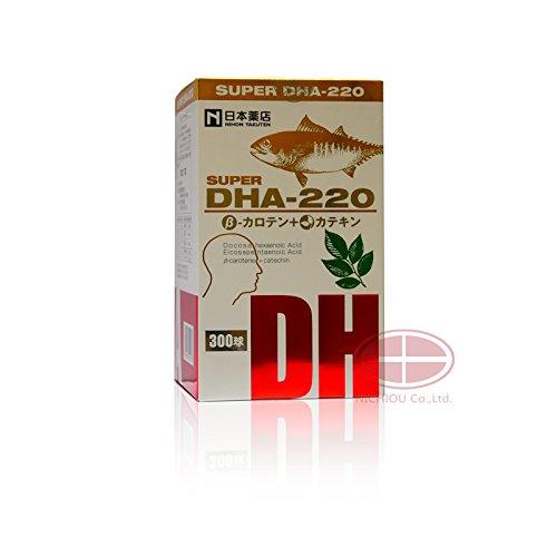 薬王製薬 スーパーDHA220 βカロテン+カテキン 300粒 (5) B07BZDRMM2 5