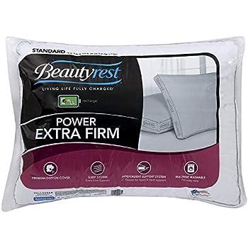 Amazon Com Beautyrest Silver 300tc Memory Fiber Pillow