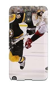 Tpu ChristopherMashanHenderson Shockproof Scratcheproof Boston Bruins (37) Hard Case Cover For Galaxy Note 3