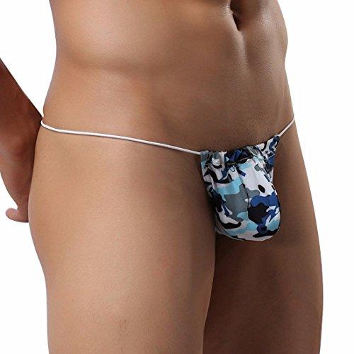 af21bf8d46d0 Men's Camouflage G String Thong T-Back Underwear Bikini Briefs - Import It  All