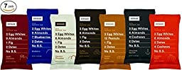 RxBar Protein Bar 7 Pack - Minimal Ingredients That Are All 100% Real Food w/ No Processed Fillers (Variety)