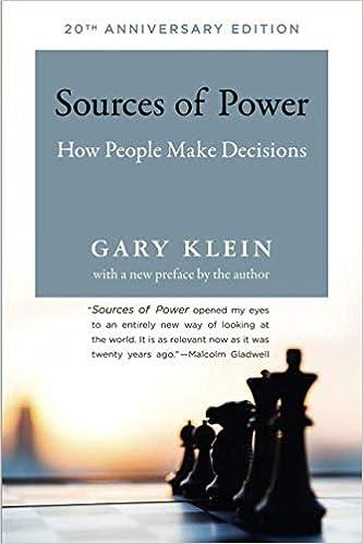 Ebooks Sources Of Power: How People Make Decisions Descargar Epub