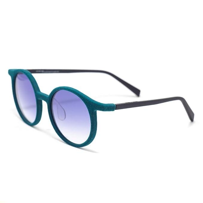 italia independent 0068V-026-000 Gafas de Sol, Turquesa, 45 ...