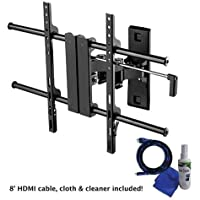 Creative Concepts A2660BPK Full Motion Medium TV Wall Mount for 26-60 Televisions