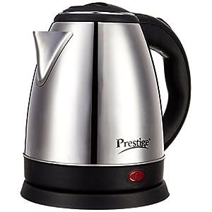 Prestige PKOSS 1.8-Litres 1500-Watt Electric Kettle, Steel