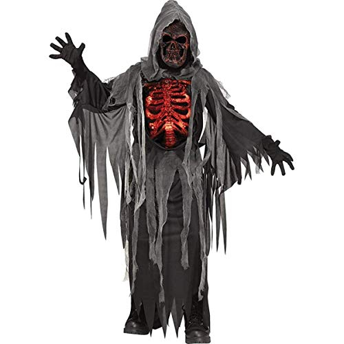 Fun World 135682L Smoldering Reaper Child Costume, Large, Multicolor ()