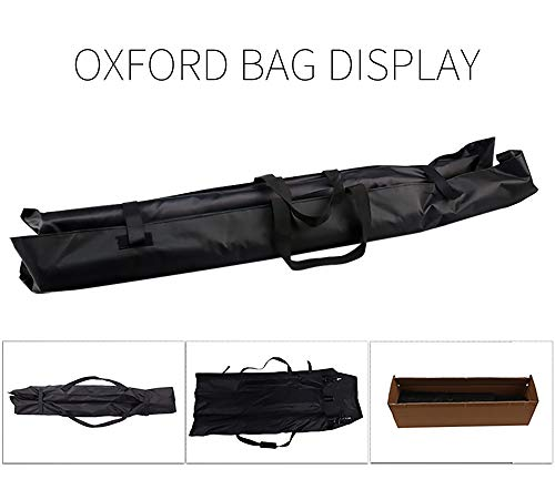 Telescopic Tube Background Support Pole Stand, 9 x 10FT Heavy Duty Background Stand Backdrop Support System Kit Carry Bag Photography Photo Video Studio by SH (Image #5)