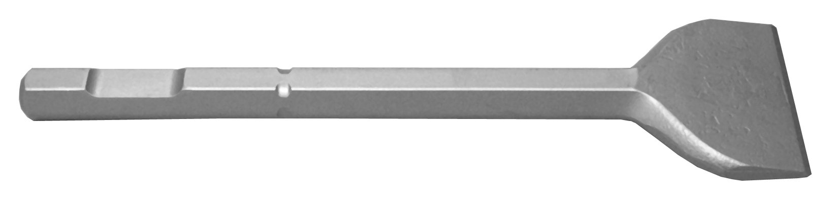 Champion Chisel, 3/4-Inch Hex Demo Shank, 12-Inch Long by 3-Inch Wide Chisel