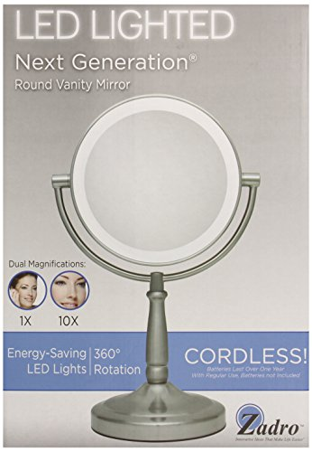 Zadro Led Lighted Makeup Mirror - 1