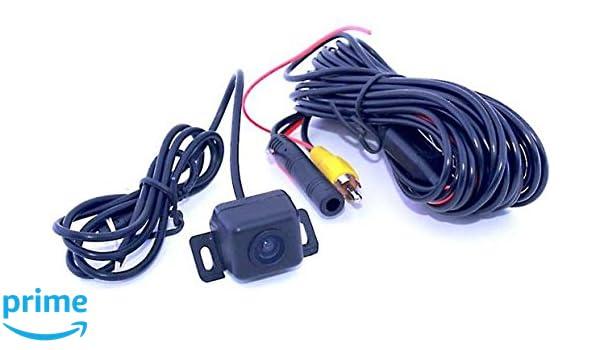 Crux CUL-16 Universal Waterproof Push-In  Backup Camera w// Parking Lines