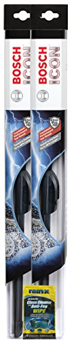 """Price comparison product image Bosch 18"""" ICON Wiper Blades Bundle With Rain-X Glass Cleaner Wipe (3 Items)"""