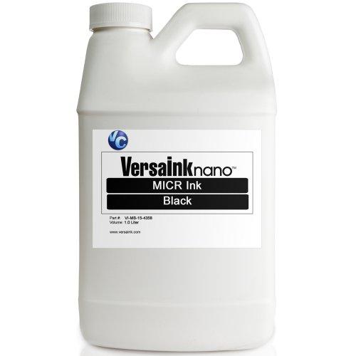 VersaInk Black MICR Ink 1L by VersaInk