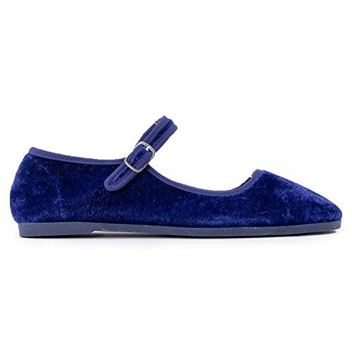 Buy velvet mary jane shoes