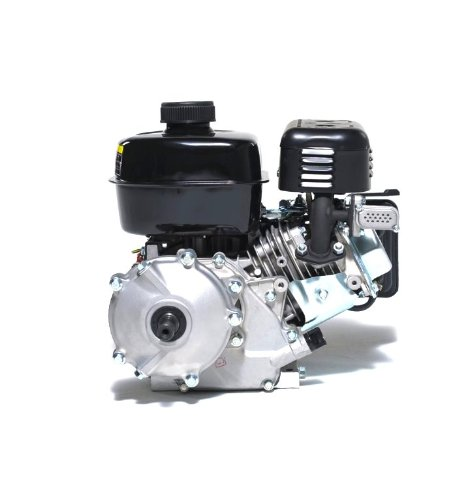 Lifan LF160F-AHQ 4 HP 118cc 4-Stroke OHV Industrial Grade Gas Engine with 6:1 Gear Reduction and 3/4'' Keyway Shaft, Recoil and Start Universal Mounting Pattern
