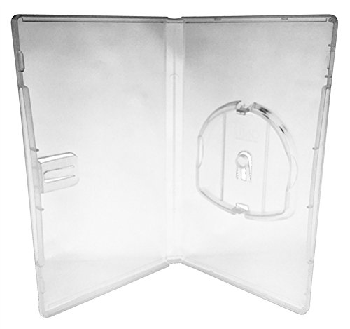 (mediaxpo Brand 50 Clear Playstation PSP Replacement UMD Cases)