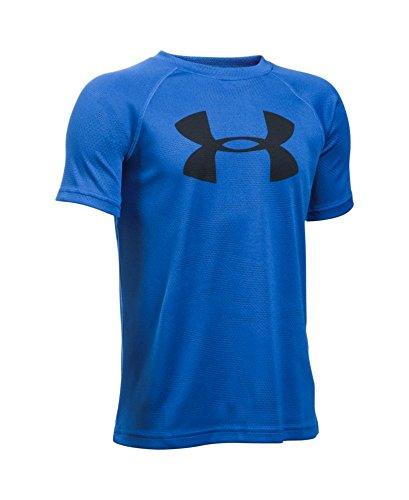 Under Armour Boys' Novelty Big Logo T-Shirt, Ultra Blue (909), Youth Large