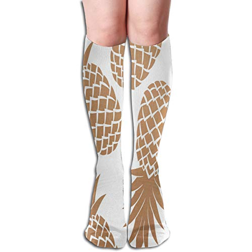 Girls Socks Over Knee Pineapple Clipart Winter Customized For -