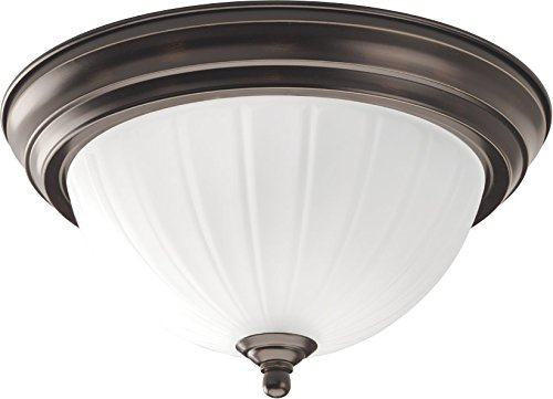 HomeStyle HS31003-125 One Light Flushmount in Bronze