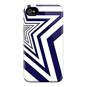 Top Quality Rugged Dallas Cowboys Case Cover For Iphone 4/4s