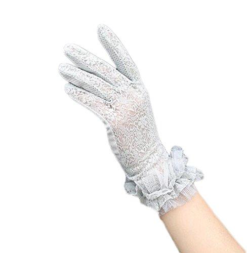 布薬理学マウントNanxson ( TM )レディースコットンとレースSunproofアンチUV手袋st0034