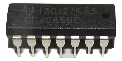 Texas Instruments CD4066B CD4066BE CD4066 CMOS Quad Bilateral Switch DIP14 20 Pieces