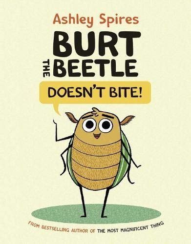Book Cover: Burt the Beetle Doesn't Bite!