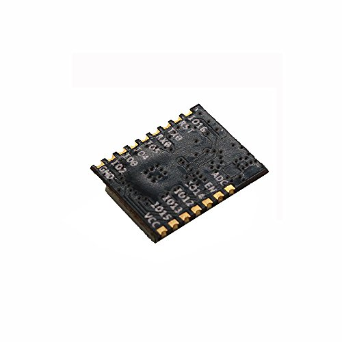 Sunhokey 2pcs ESP-M1 ESP8285 ESP8266 1M Flash Chip Wifi Wireless Module Serial Port Ultra Transmission With External Antenna Interface FZ2735 by Sunhokey (Image #3)