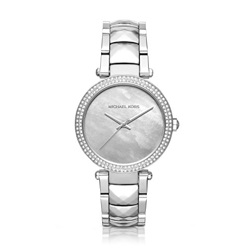 Michael Kors Women's Parker Silver-Tone Watch MK6424