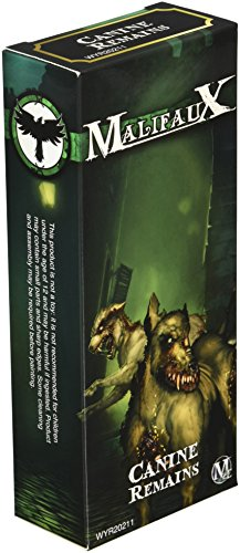 Wyrd Miniatures Malifaux Resurrectionists Canine Remains Model Kit (3 Pack)