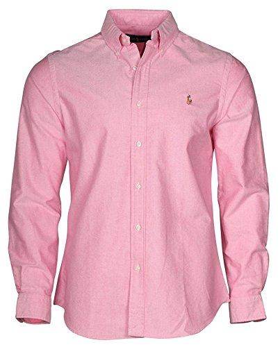 Ralph Lauren Mens Long Sleeve Oxford Button Down Shirt (X...