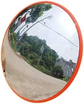 Geng カーブミラー PC広角レンズ、耐久性のあるプラスチックスーパーマーケット盗難防止ミラー、丈夫なポータブル広角凸面鏡