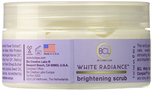 Bio Creative Lab Brightening Scrub, White Radiance (Creative Labs White Skin)