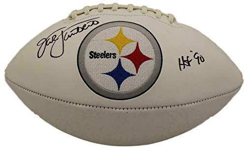 Jack Lambert Signed Football - Jack Lambert Signed Ball - Logo 22422 - JSA Certified - Autographed Footballs