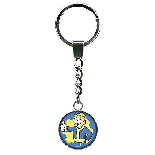Athena Brand Fallout Gaming Games Key Ring Keychain for House Boat Auto -