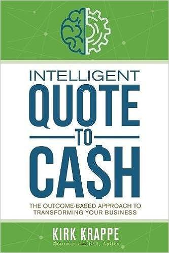 Amazon Intelligent QuotetoCash 60 Kirk Krappe Simple Quote To Cash