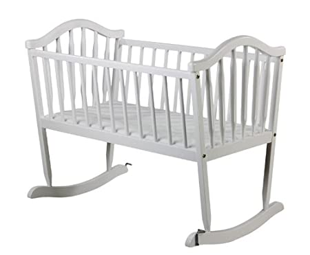 Dream On Me Rocking Cradle, White 645W