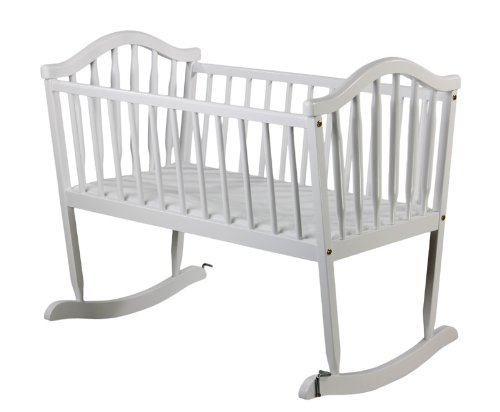 Dream on Me Rocking Cradle, Cherry 645C