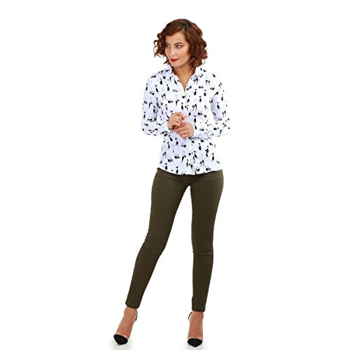 Kaki Modeuse Coupe Femme La Slim Jeans qxXpaxwg