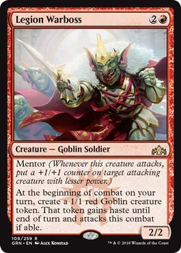 (Magic: the Gathering - Legion Warboss (109/259) - Guilds of Ravnica - Foil)