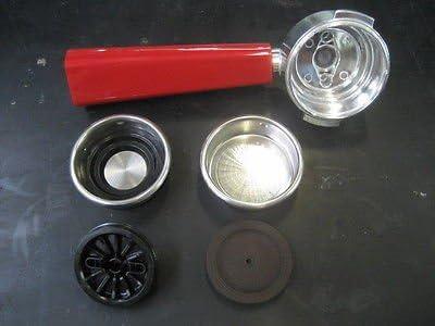 Elettrogea AT4056035800 Soporte de filtro con mango rojo para ...