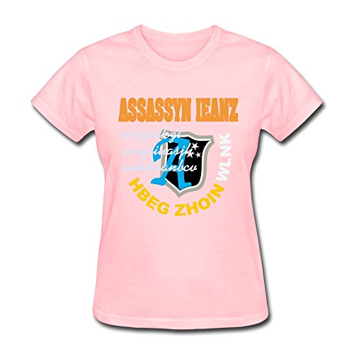 WSB Women's T-shirts Great Letter Pink XL