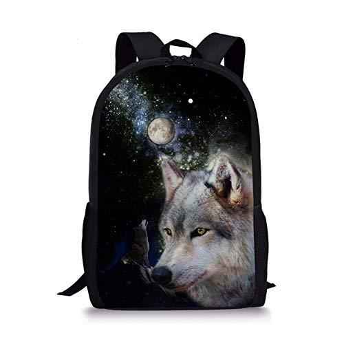 Chaqlin 1 1 Cartable Noir Wolf Moyen Fox apvSa