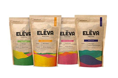 Eleva Coffee Sample Pack – Ethiopia, Nicaragua, Guatemala & New York Blend