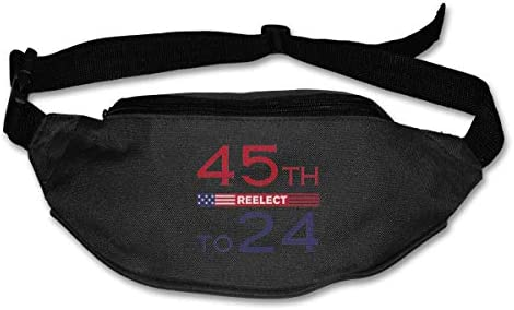 45 Reelect to 2024 Unisex Outdoors Fanny Pack Bag Belt Bag Sport Waist Pack