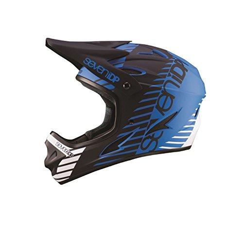 7iDP 2018 M1 Cycling Helmet - 7706 (Tactic Matte Blue/BLack/White - L (58-60CM))