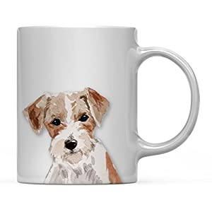 Andaz Press Personalized 11oz. Dog Coffee Mug Gift, Basset Hound Up Close, 1-Pack, Custom Name, Pet Animal Lover Birthday Christmas Gift for Her Family 2